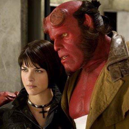 'Hellboy' regresa mañana a los cines con una segunda entrega protagonizada por Ron Pearlman y Selma Blair