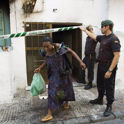 Detienen a otras cuatro personas por los disturbios originados en Roquetas tras la muerte del joven senegalés