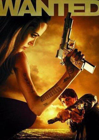 Angelina Jolie vuelve a la acción desmedida con 'Wanted (Se busca)'
