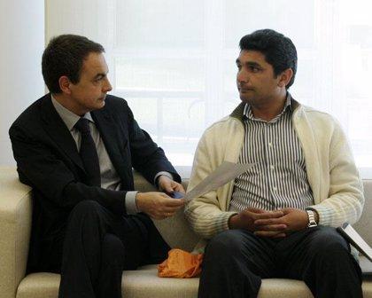 """Zapatero asegura a Cortés que el Gobierno """"agotará las vías judiciales"""" y se compromete a recibirle en breve"""