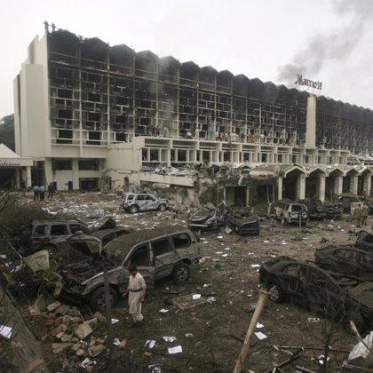 Concluyen las operaciones de búsqueda en el Hotel Marriott de Islamabad