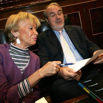 """Solbes dice que la morosidad es """"realmente preocupante"""", aunque recuerda que no sólo sube en España"""