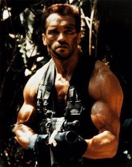 Schwarzenegger en 'Depredador'