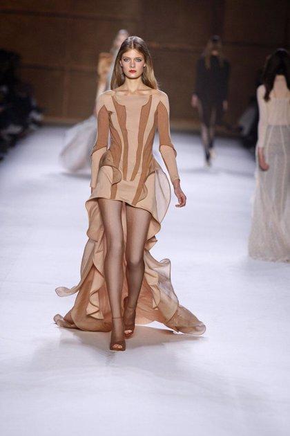 Nina Ricci presenta su colección primavera-verano 2009 en la Semana de la Moda de París