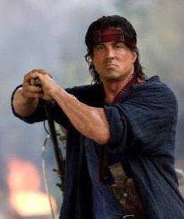 Stallone en 'John Rambo'