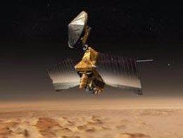 Recreación artística de la Mars Reconaissance Orbiter