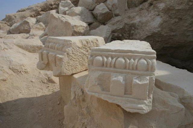 Restos arqueológicos del complejo palaciego de Herodes