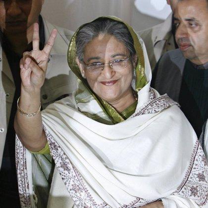 La alianza de Hasina obtiene la mayoría, según responsables electorales