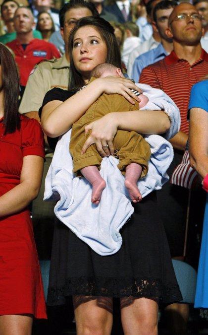 La hija de Sara Palin da a luz a su primer hijo