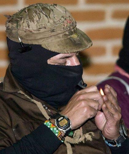 El subcomandante Marcos reaparece en la celebración del 15 aniversario del Ejército Zapatista en Chiapas