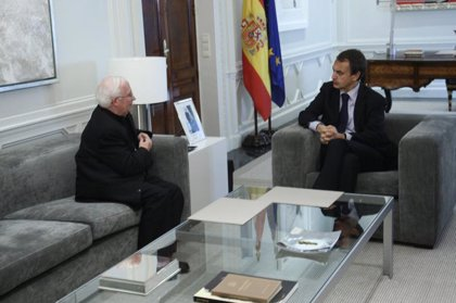 """Zapatero desea """"suerte y éxitos"""" a Cañizares en el Vaticano y le ofrece la colaboración del Gobierno"""