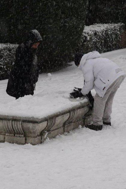 Alerta por nieve en España