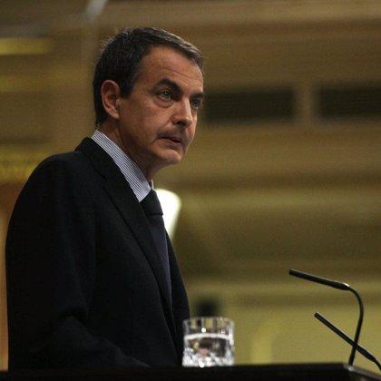 """Zapatero presume de """"mojarse"""" para pedir el alto el fuego en Gaza y reta a Rajoy a decir """"algo"""" sobre el conflicto"""