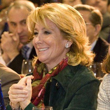 """Aguirre a Rajoy: """"Parece que amaina el temporal"""""""