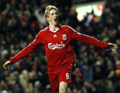 Fernando Torres entra en la lista de los 50 mejores jugadores de la historia del Liverpool, según 'The Times'
