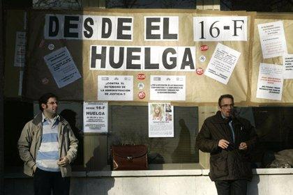 El Comité de Huelga cifra en un 70% el seguimiento del paro de Justicia