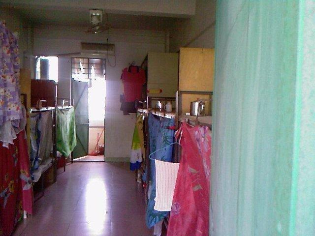 Uno de los dormitorios de la Fábrica