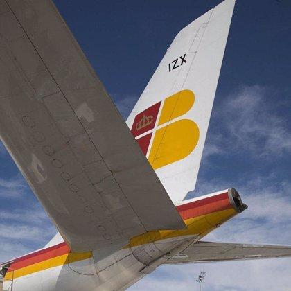 Iberia ganó un 90,2% menos en 2008, por la caída de la demanda y el coste del combustible