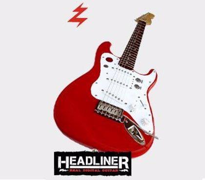 Una guitarra auténtica que funciona con 'Guitar Hero'