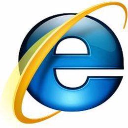 Logotipo del navegador web Internet Explorer
