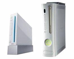 Las consolas de videojuegos Wii y Xbox 360