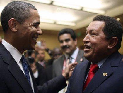 """Chávez a Obama: """"Quiero ser tu amigo"""""""