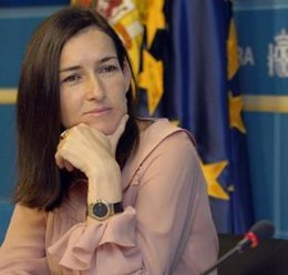 La ministra de Cultura Ángelez González-Sinde