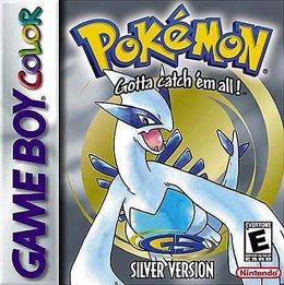 Portada de Pokémon Plata para Gameboy Color
