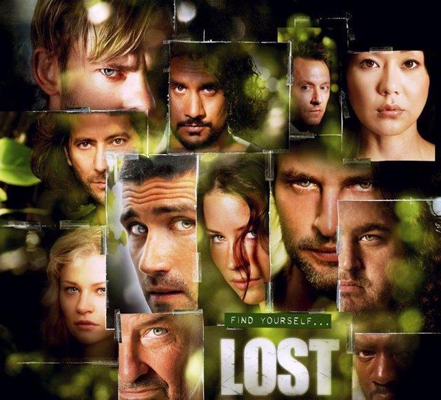 Poster de la tercera temporada de la serie Perdidos Lost