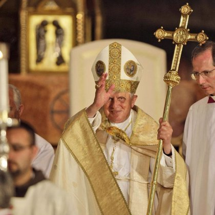 Finaliza el viaje de Benedicto XVI a Tierra Santa