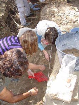 Excavaciones arqueológicas en Olivares
