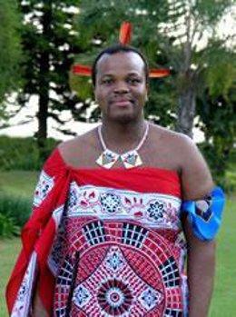 Rey de Swazilandia Mswati III