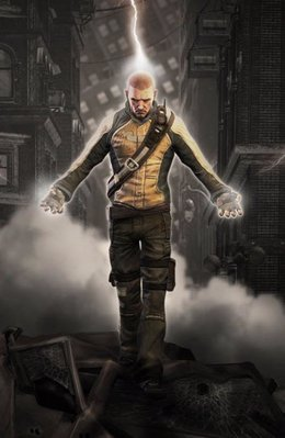 inFamous pone a los jugadores en la piel de un hombre que gana poderes