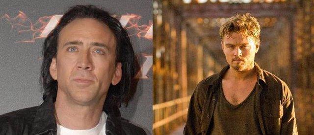 Montaje de Nicolas Cage y Leonardo DiCaprio