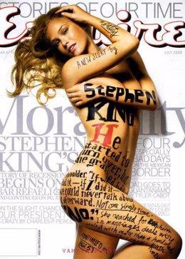 La modelo Bar Rafaeli, desnuda en la portada de Esquire