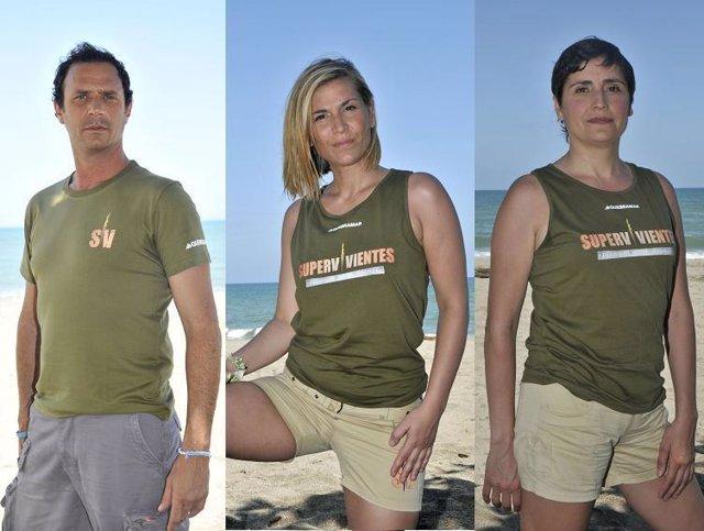 Matías, Yolanda y Maite se juegan la expulsión en Supervivientes