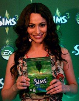 Natalia Verbeke presenta Los Sims 3 en Madrid