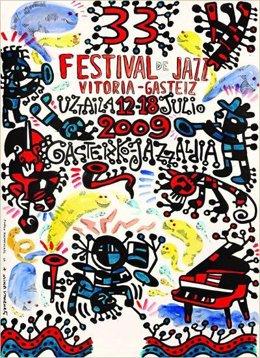 Cartel del 33 Festival de Jazz de Vitoria