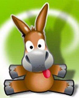 Logo del programa de intercambio de archivos P2P Emule