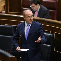 Miguel Sebastián, en el Congreso