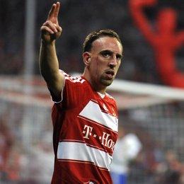 Centrocampista francés del Bayern de Múnich, Franck Ribery