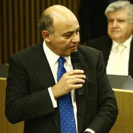 Presidente de la CEOE, Gerardo Díaz Ferrán