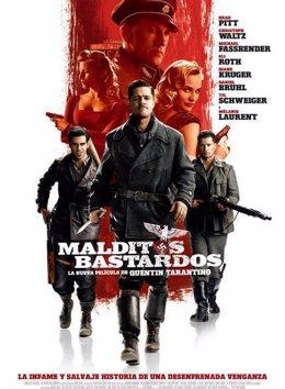 Cartel de Malditos Bastardos de Tarantino