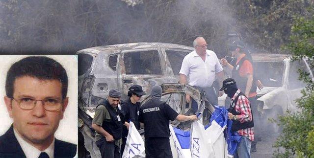 Fotografía atentado Eduardo Puelles García