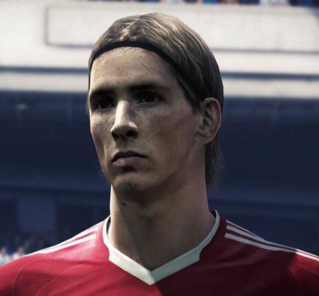 Fernando Torres en Pro Evolution Soccer 2010