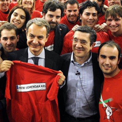 Zapatero recibe el 1 de julio al lehendakari Patxi López
