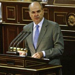 Manuel Chaves, en el Senado