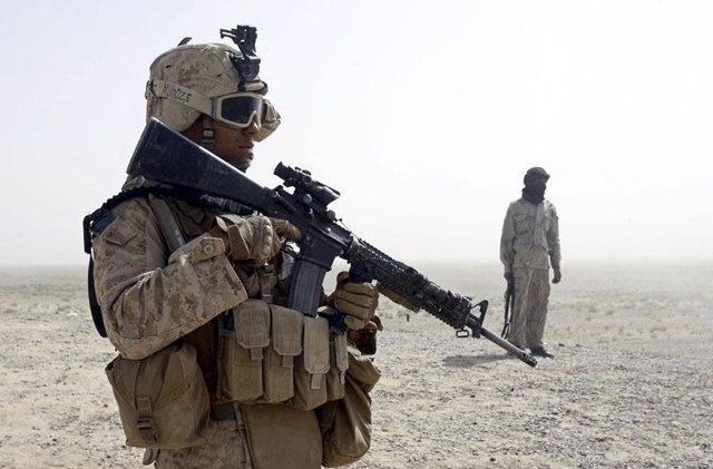 Ofensiva de EE.UU y Afganistán