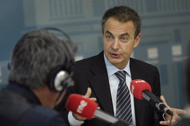 José Luis Rodríguez Zapatero en Radio Nacional de España