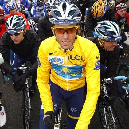 """Contador (Astana) advierte que la crono de Mónaco puede marcar """"diferencias considerables"""""""